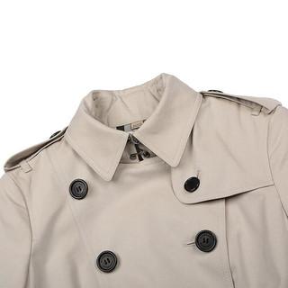 BURBERRY 博柏利 Heritage trench系列 女士中长款风衣 3913358