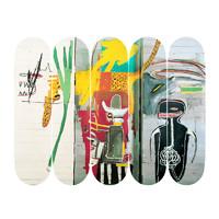 HOWstore The Skateroom装饰滑板Basquiat巴斯奎特5件套装
