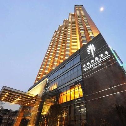 节假日不加价!武汉丹枫白露酒店 行政豪华大床套房1晚(含大堂吧双人下午茶+免费熨衣2件)24小时入住制