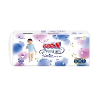 GOO.N 大王 自然之恩系列 婴儿拉拉裤 XL34