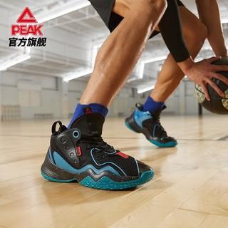PEAK 匹克 匹克篮球鞋男2021夏季新款网面透气球鞋防滑耐磨水泥克星运动鞋男