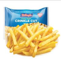 京东PLUS会员、限地区:  小熬仙 艾克拜尔 冷冻薯条 1kg *2件