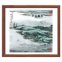 《蒙象册6(具区帆影图)》陆俨少  水墨画国 47×47cm