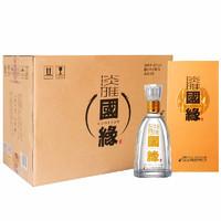 今世缘 淡雅国缘 42%vol 浓香型白酒 500ml*6瓶 整箱装