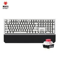 新品发售:Hyeku 黑峡谷 X5 黑森林慕斯 双模机械键盘 108键 BOX轴 玫瑰红