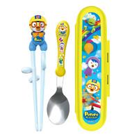 EDISON 爱迪生 Pororo系列 儿童叉勺筷套装