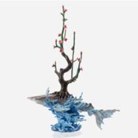 青铜雕塑艺术品 陈金庆亲笔签名 乘风破浪 55×30X82cm