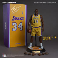 玩模总动员、新品预定:ENTERBAY NBA球星系列 沙奎尔·奥尼尔 1/6 兵人模型
