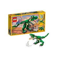 29日0点、考拉海购黑卡会员:LEGO 乐高 Creator 创意百变系列 31058 凶猛霸王龙
