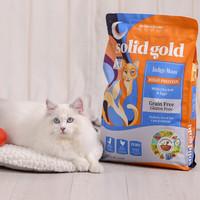 京东PLUS会员:金丽高 无谷低敏全猫粮  12磅/5.44kg