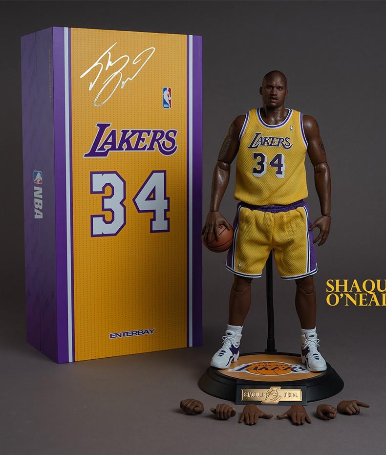 ENTERBAY NBA球星系列 沙奎尔·奥尼尔 1/6 兵人模型