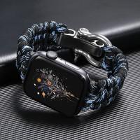 索柯 苹果手表系列 个性创意精织尼龙运动表带