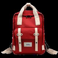 NATIONAL GEOGRAPHIC 国家地理 男女款涤纶双肩包 N07301 红白热