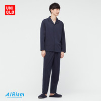 UNIQLO 优衣库  437343  男士棉混纺睡衣