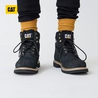 CAT卡特彼勒科罗拉多牛剖层革经典款舒适耐磨男休闲靴工装靴
