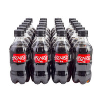 京东PLUS会员、限地区:Coca-Cola 可口可乐 碳酸饮料 300ml*24罐  *3件