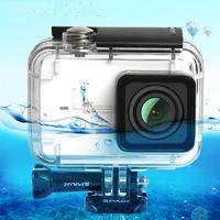 适用于小蚁4K运动相机防水壳 小蚁2代防水壳 运动相机潜水保护壳