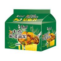 康师傅 小鸡炖蘑菇面 5袋 *15件