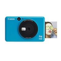 佳能(Canon )IVY CLIQ 拍立得小巧便携  即时相机打印机 送女友送闺蜜生日礼物 可插卡 蓝色