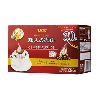 UCC 悠诗诗 滴滤式挂耳咖啡粉 30杯
