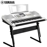 雅马哈(YAMAHA)雅马哈电子琴贵族银KB308儿童成年专业演奏教学61键电子琴官方标配+全套配件