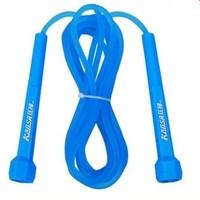 狂神 快速胶跳绳 PVC手柄+3米透明磨砂绳