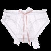 PEANOJEAN K82 蕾丝少女日系网纱内裤