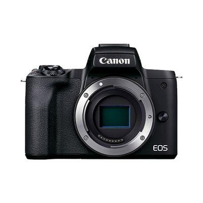 百亿补贴 : Canon 佳能 EOS M50 Mark II APS-C画幅 微单相机 单机身
