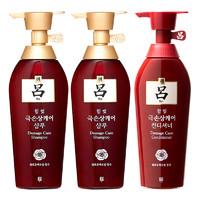 Ryo 红吕 染烫修复损伤洗发水 400ml*2瓶 +护发素400ml