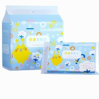 FulCotton 棉柔世家 婴儿保湿因子柔纸巾 3层 40抽 6包