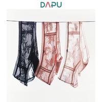 DAPU 大朴 蕾丝网纱弹力三角内裤