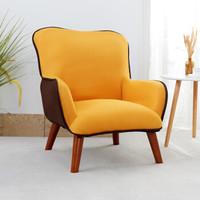Youjuke 优居客 DMG002 单人沙发休闲椅 黄色