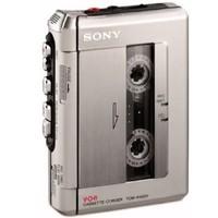 Sony 索尼 TCM-450DV 标准磁带录音机(银色)
