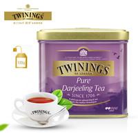 TWININGS 川宁 欧式大吉岭红茶 100g +凑单品
