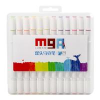 M&G 晨光 ZPMV0702 MGARTS系列 细杆马克笔 24支/盒 *4件