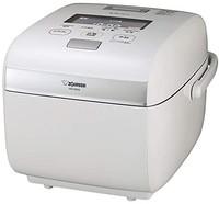 ZOJIRUSHI 象印 电饭锅 1升(10合) *舞炊 电磁压力加热式 有黑漆与雪白色可选 需配变压器