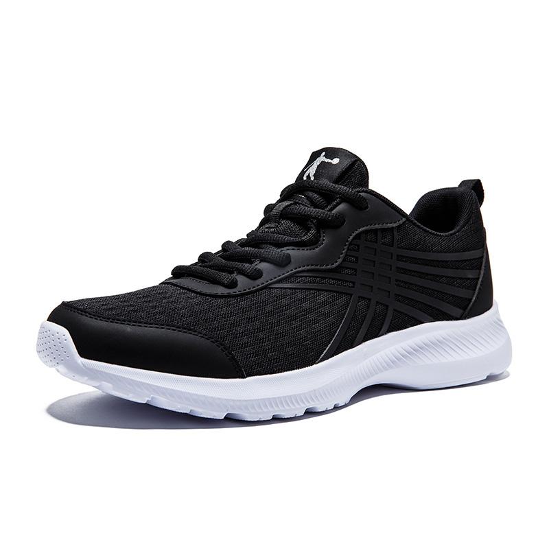 QIAODAN 乔丹 男子跑鞋 XM3570246 黑白 41