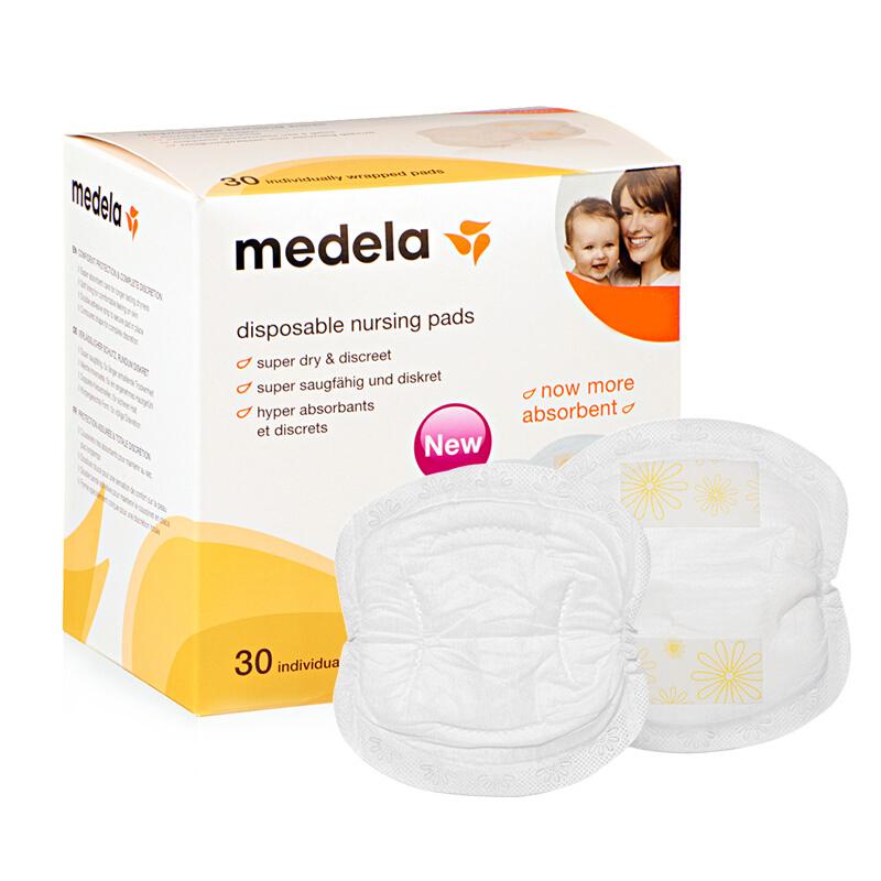 medela 美德乐 一次性防溢乳垫 经典款 30片 *3件