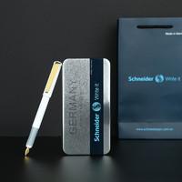 Schneider 施耐德 BK600 钢笔礼盒套装 银尖 黑色
