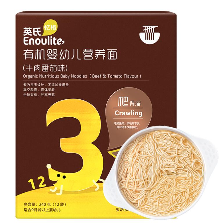 Engnice 英氏 线面 牛肉番茄味 240g