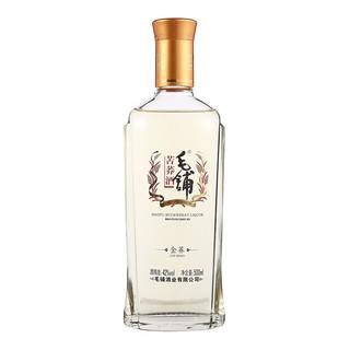 劲牌 毛铺系列 苦荞酒 金荞 42%vol 白酒 500ml*6瓶 整箱装
