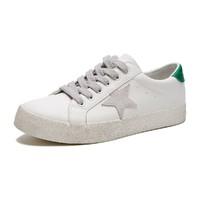 热风 | 新款男士时尚休闲板鞋拼色星星鞋做旧小白鞋