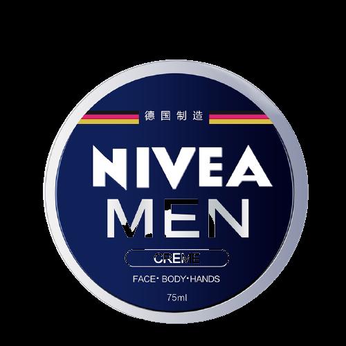 NIVEA 妮维雅 男士面霜 75ml (赠玻尿酸面膜 1片 )