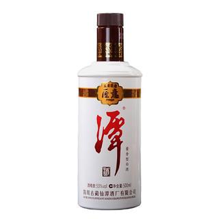 潭酒 匠意 53%vol 酱香型白酒 500ml*6瓶 整箱装