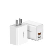 PRODA PD-A33 手机充电器 USB&Type-C 20W