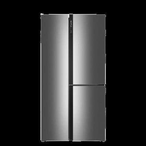 KINGHOME 晶弘 BCD-490WPDCL 风冷T字对开门冰箱 490L 现代银