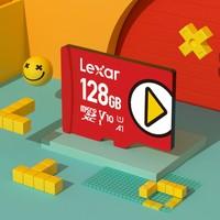 Lexar 雷克沙 PLAY MicroSD卡 128GB