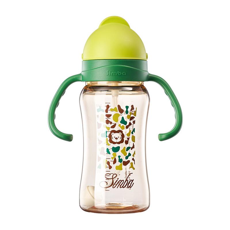 Simba 小狮王辛巴 S8602 儿童吸管杯 240ml 绿色