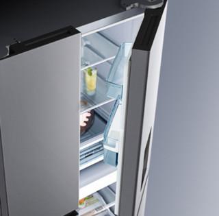 WAHIN 华凌 BCD-445WSPZH 风冷十字对开门冰箱 445L 星际银