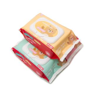 bobo 乐儿宝 RM1803 婴儿湿巾 80抽*3包